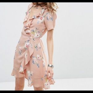 ASOS Floral Wrap dress